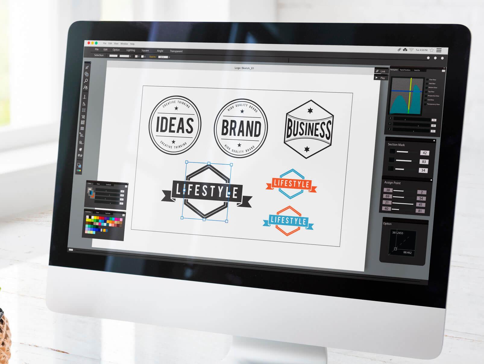 Hire A Web Designer to create website logo